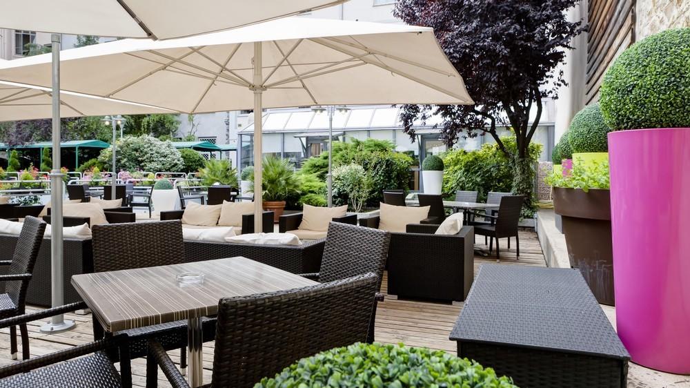 Hotel Charlemagne Lyon - terrazza