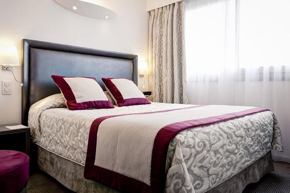 Hotel Charlemagne lyon - habitación