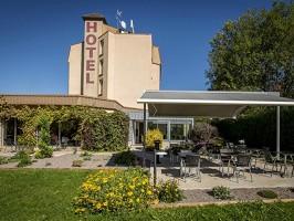 Hôtel des Cépages - Außenansicht des Hotels
