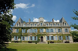 Château de Lalande - Chateau de Lalande Hotel Restaurant Perigord Fassade