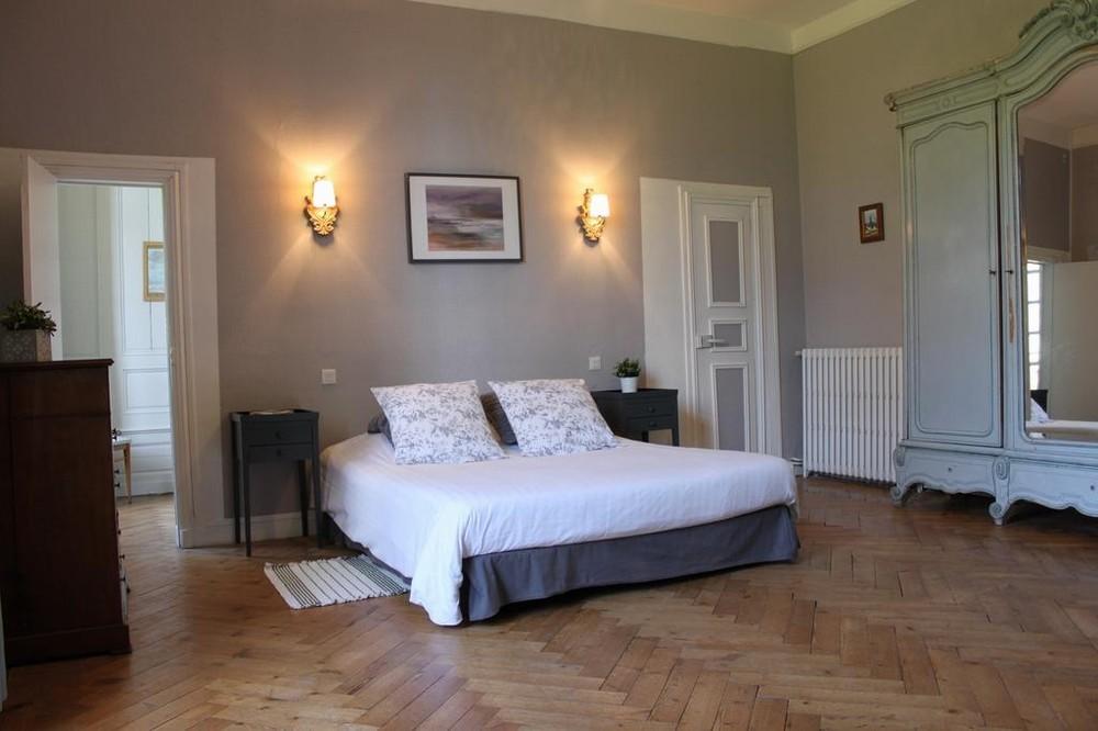 Château de Martragny - camera da letto