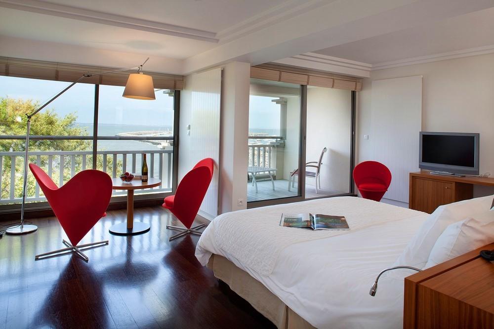 Hotel Anne de Bretagne - Zimmer mit Meerblick