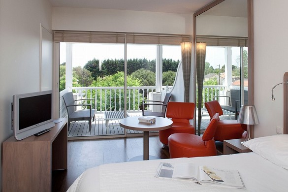 Hotel anne Brittany - sea view