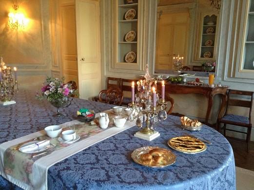 Château de vaulogé - living room