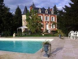 Château de la Gourdinière - Piscina