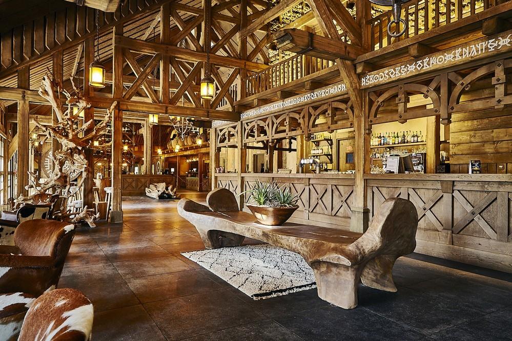 Parc asterix convenciones y seminarios - el hotel urbano suspendido - el bar