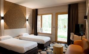 Die drei Hoteleulen - Zweibettzimmer