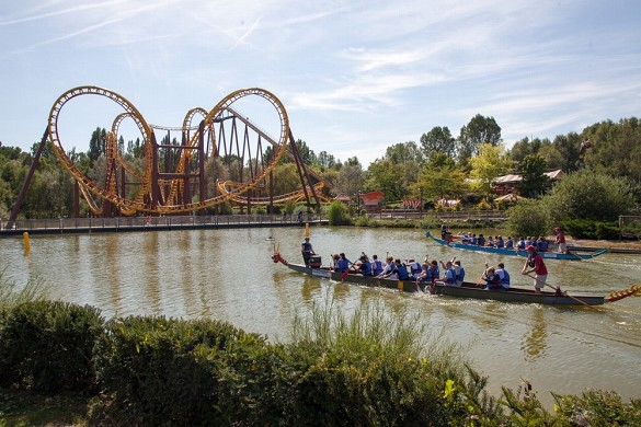 Parc asterix conventions and seminars - team building on the lake