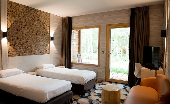 Parc asterix conventions and seminars - the three owls hotel - twin room
