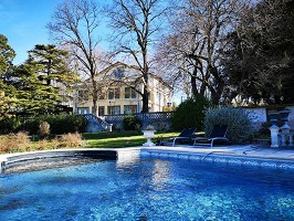 Manoir le Roure Hotel SPA - Schwimmbad