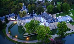 Das Chateau D'Esclimont - Außenansicht