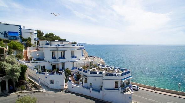 Le rhul - establecimiento con vistas al mar
