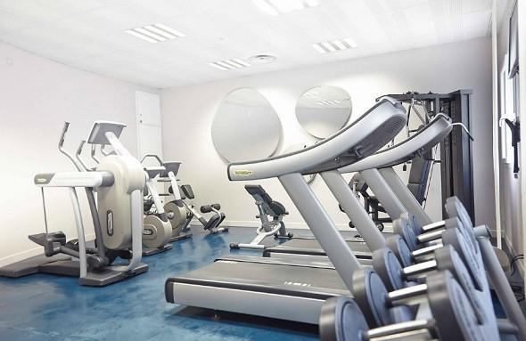 Novotel avignon center - fitness room