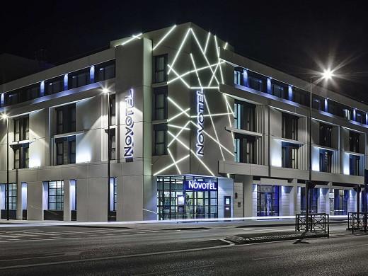 Novotel avignon center - facade