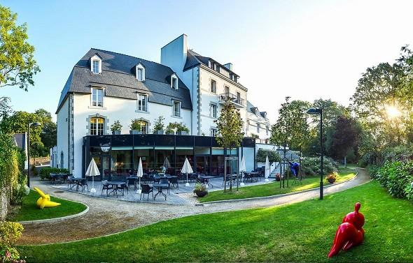 Zona de puentes aven art gallery resort - sede del seminario en Finistère 29