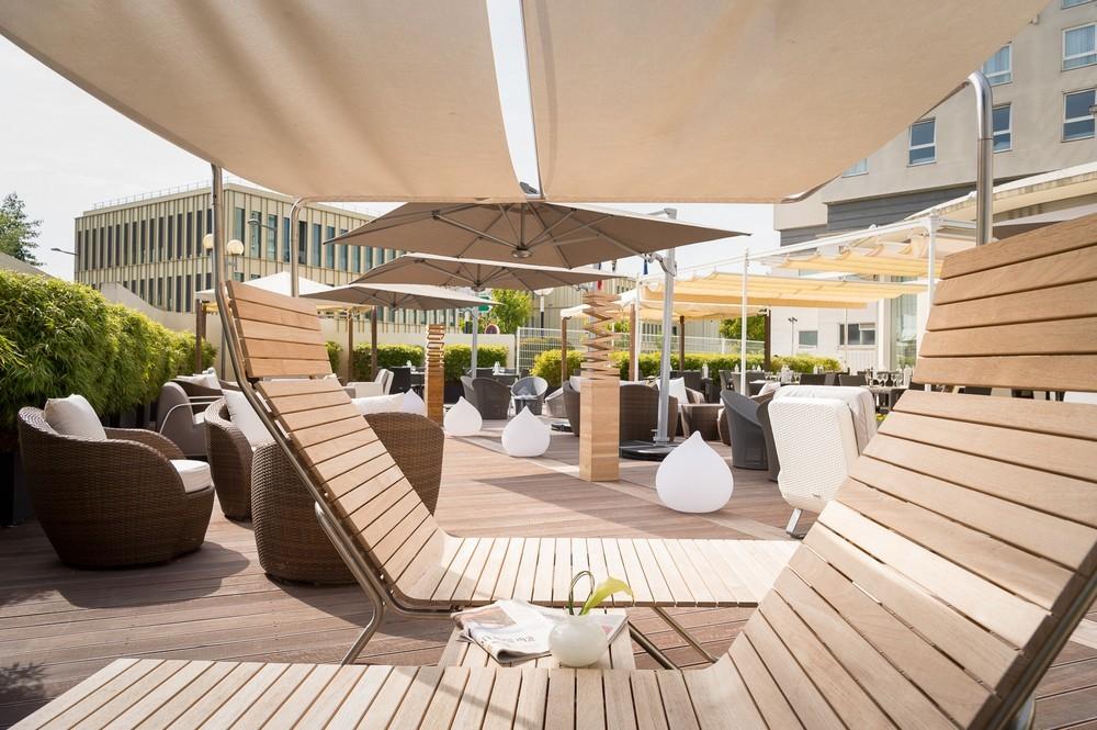 Best Western Paris Saclay - Terrasse