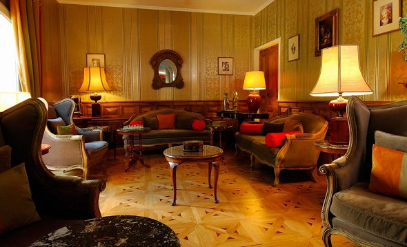 Best western l'Orangerie - interior