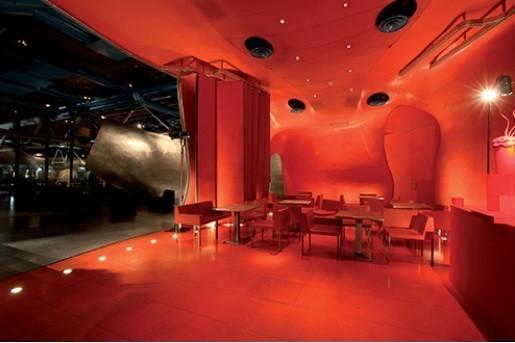 Centro Pompidou - restaurante