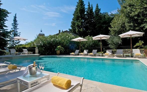 Castello di Varennes - piscina