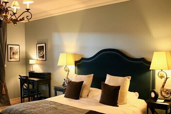 Villa Mazarin - dormitorio