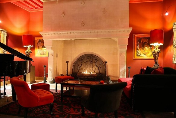 Villa mazarin - sala de estar