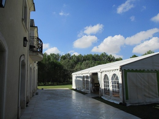 Mas des sables - possibility of tents