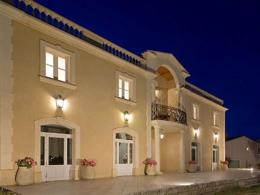 Mas des sables - the building of the villa