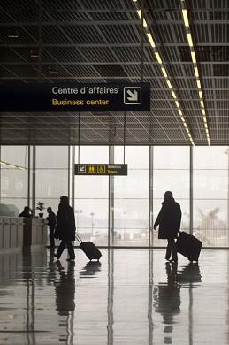 Business Center am Flughafen Nizza Hall