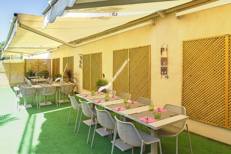 Hotel esatitude - terrace