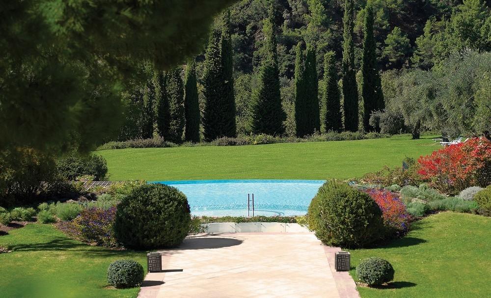 Château saint-martin spa - garden