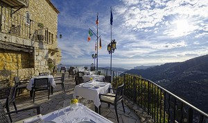 Castillo Eza - Hermosa vista