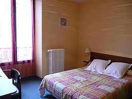 Hotel room palace of Aurillac