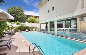 Appart'Hôtel Odalys les Floridianes - Schwimmbad