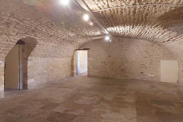 Chateau de brognon - caveau