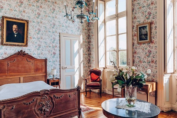 Chateau de brognon - chambre