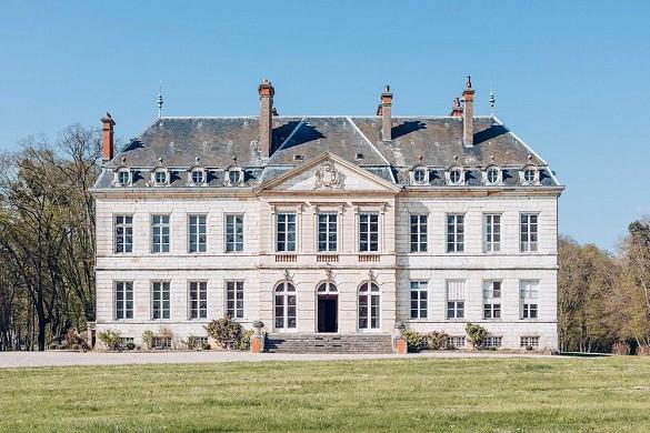 Chateau de brognon - façade