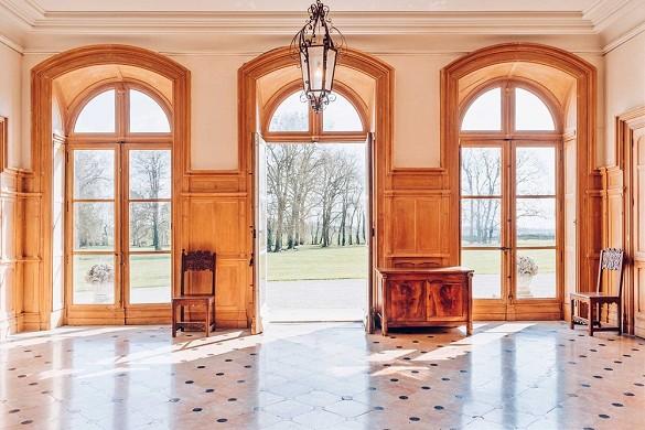 Chateau de brognon - intérieur