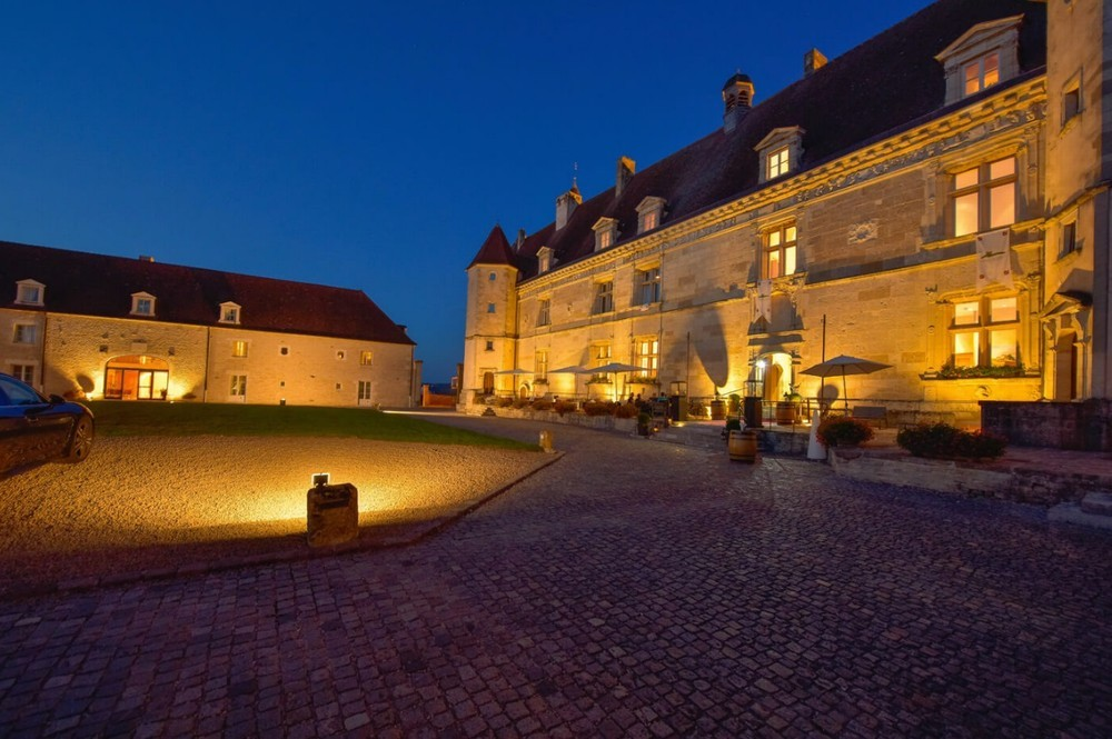 Chateau de Chailly Pouilly in Auxois a soiree_3766