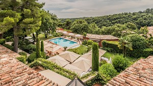 Cantemerle Hotel & Spa - Aerial view of Cantemerle Hotel & Spa