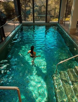 Cantemerle hotel restaurante y spa - piscina cubierta climatizada