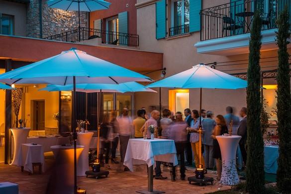 Restaurante y spa del hotel Cantemerle: velada privada en la casa de campo