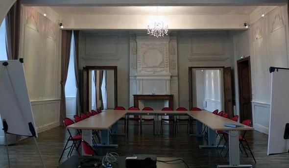 Dominio del palacio del obispo - sala de seminario