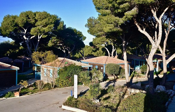 The hippocampus - the chalets of the sea - seminar resort