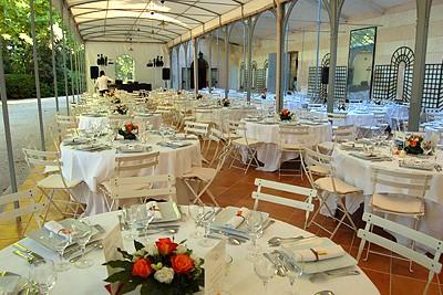 Chateau de Valmousse Banquete