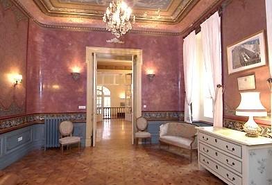Interior del castillo de Valmousse