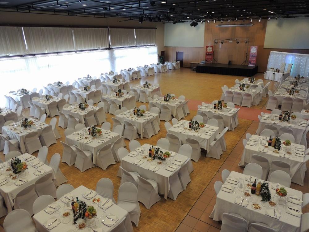 Convention Center Fleuriaye - sala Jean FICE 280 partecipanti matrimonio