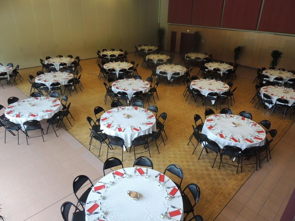 Convention Centre Fleuriaye - pranzo jean hall reau