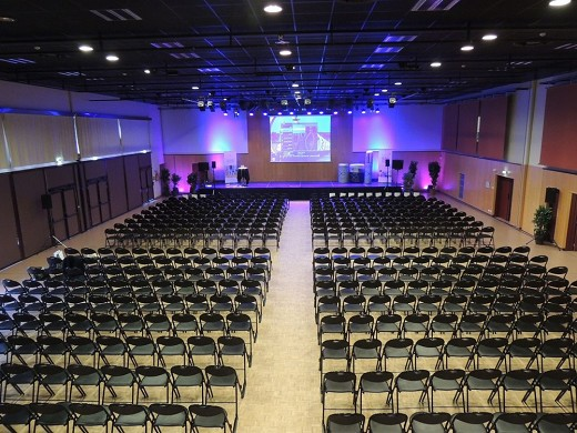 Convention center la fleuriaye - room jean du reau 500 pax