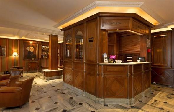 Best western premier trocadero tower - Reception