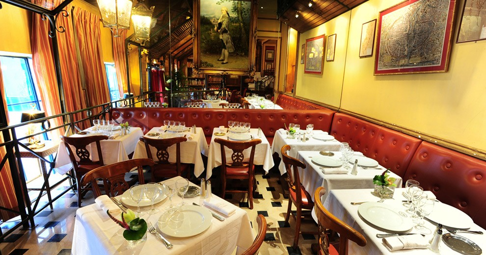 Restaurant le procope salle s minaire paris 75 for Le miroir resto paris